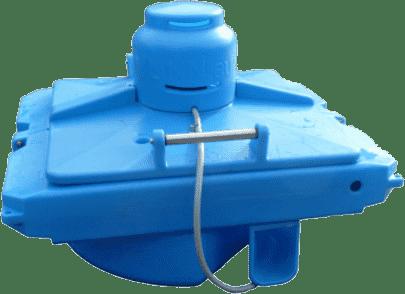 Легкий и компактный плавающий оксигинатор