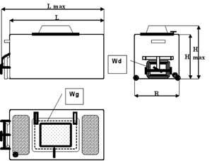 Размеры контейнера STANDARD