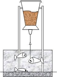 Как сделать кормушка для рыб на